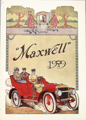 Maxwell Sales Brochure 36 Pages, Among Them The Models