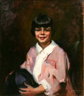 Robert Susan, Girl In A Pink Frock