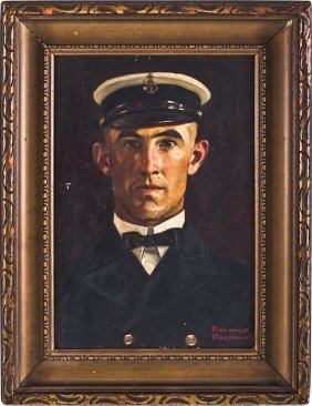 Norman Rockwell, Chief Petty Officer LeRoy Evans