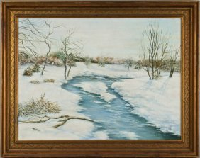 Will Couper, 20th Century School Winter Scene
