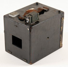 Early Algate Wooden Box Camera