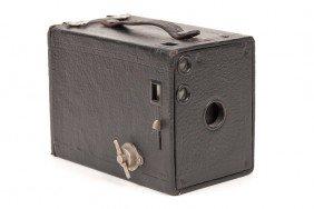 Kodak No. 2 Brownie Model D, 120 Roll Film Camera.