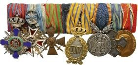Bar Of Orders (2) And Medals (5)