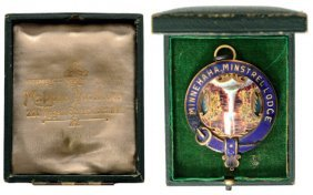 Minnehaha Minstrel Lodge Medal