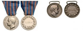 Lybia Campaign Medal, Instituted In 1923