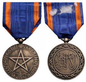 Cherifi An Medal Of Civil Merit, Instituted In 1924
