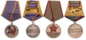 Group Of 2 Medals