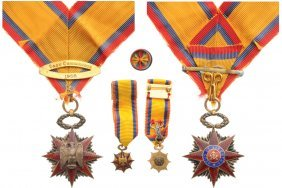 Military Order Of Foreign Wars Commander's Cross,