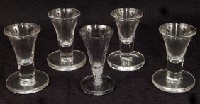 Five Firing Glass Cups