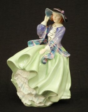 "Royal Doulton Figurine ""Top O' The Hill"" HN 1833, 7"