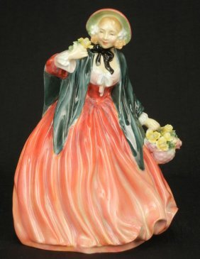 "Royal Doulton Figurine ""Lady Charmain"" HN 1949, 8"","