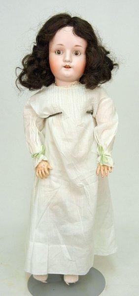 Max Oscar Arnold Bisque Head Doll, Composition Body