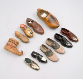 Grouping Of Decorative Shoes