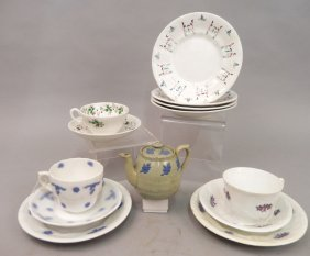 Grouping Of English Porcelain