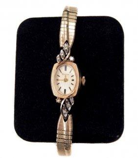 Bulova 14k Gold Ladies Wristwatch
