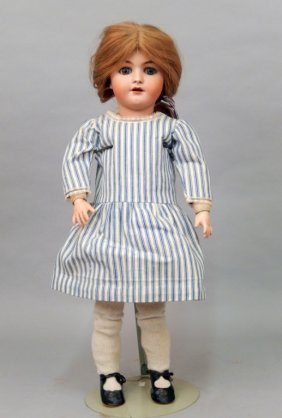 Heinrich Handwerck Simon Halbig Bisque Head Doll
