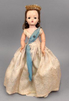 1950's Madame Alexander Cissy Queen Doll