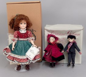 Robin Woods Doll And Suzanne Gibson Dolls In Boxes