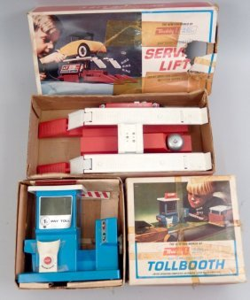 Two Buddy L Auto Action Toys In Boxes