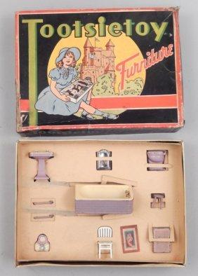 Tootsietoy Furniture In Original Box