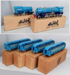 "Mth New York Central ""blue Comet"" Train Set"
