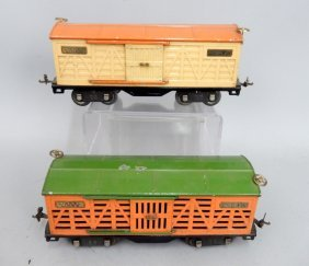 Two Lionel Prewar Standard Gauge Freight Cars