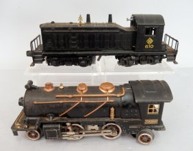 Lionel Postwar Nos. 610 And 262 Locomotives