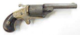 A .32 Caliber Moore€™s Teat-fire Revolver