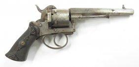 A Belgian Pinfire Revolver Pistol