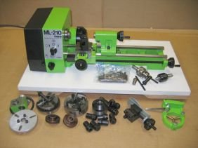 318 Toyo Lathe New Ml 210 With Tooling Lot 318