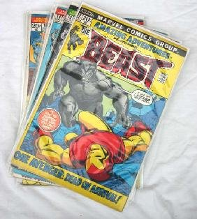 "Comic Book Lot Of Marvel Comics ""Amazing Adventures"