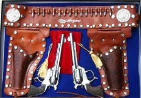 Fantastic Roy Rogers Western Toy Gun & Holster Set