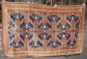 """6'2""""x10'3"""" Saichur Uzbek Kazak Oriental Rm Size Rug"""