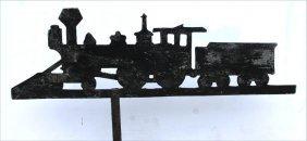 Ca 1920 American Heavy Gauge Metal Silhouette