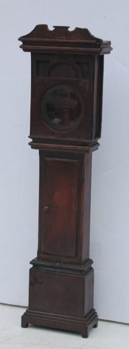 Mid 19thc Nicely Carved Mahog Chippendale Tall Case