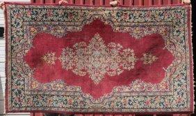 """4'x6'8"""" Antique Persian Sarouk Oriental Area Rug"""