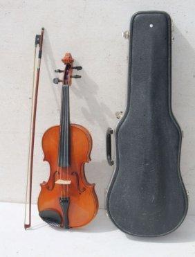 """T.g. Pfretschner 15"""" Viola Model 120v In Case W 1 Bow"""