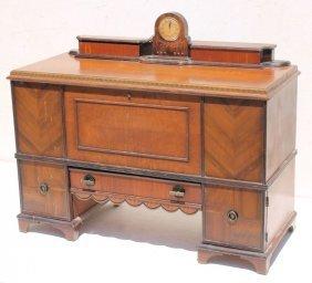 """Period Art Deco """"roos"""" Cedar Chest W Rare Built In"""