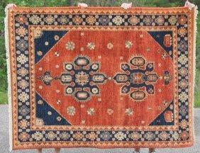 "5'x6'7"" Kazak Oriental Area Rug"