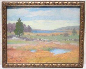 "Carl John David Nordell (1885-1957) 8""x10"" O/bd Very"