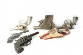 Collection Of 6 Vintage Toy Guns
