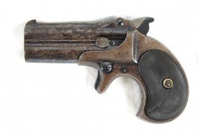 Remington 2 Shot Derringer -  Unusual 41 Caliber