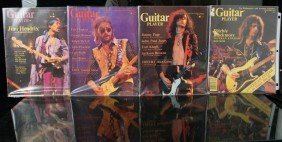 4 Guitar Player's Mags -Hendrix, Clapton, Page,