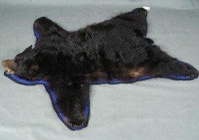 "Black Bear Rug 76"" X 63"""