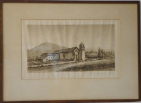 Henry Chapman Ford (1828-1894) Mission Etching