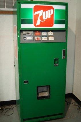 Vintage 7-up Vending Machine
