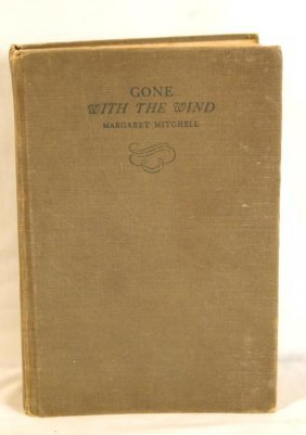 Gone With The Wind First Edition Book