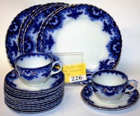 CLIFTON FLOW BLUE CHINA