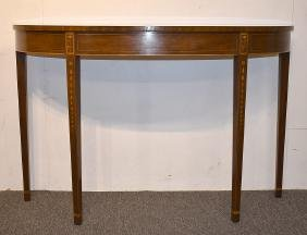 Kittinger Federal-style Inlaid Console Table