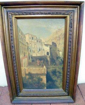 Edgar Barclay, Oil/Canvas.